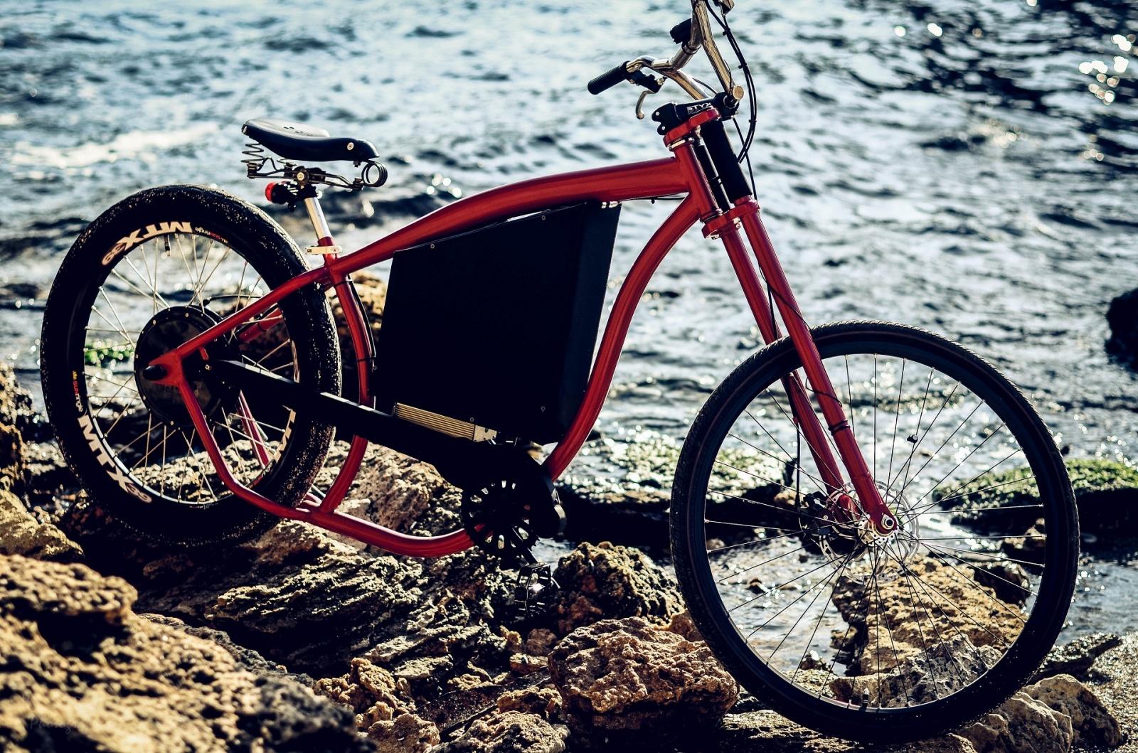 Как я строил бюджетный электро-вело чоппер - 1
