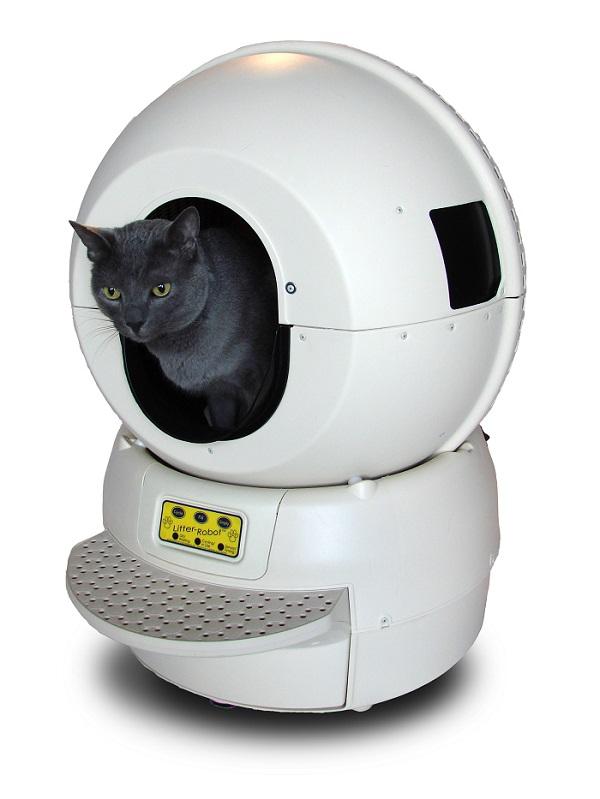 Litter Robot II: «умный туалет» для кошки в обычной квартире - 2