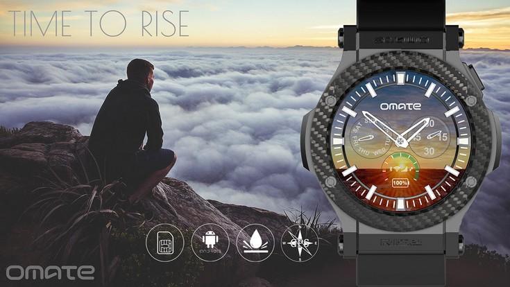 Omate готовит часы Rise с полноценной ОС Android 5.1