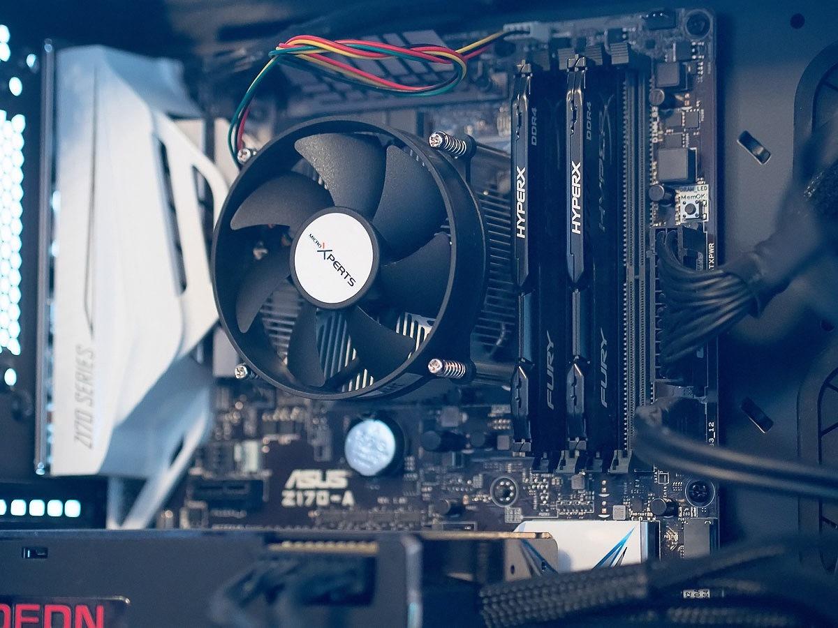 Обзор комплекта оперативной памяти HyperX Fury DDR4-2400 16 Gb (2*8 Gb) - 2