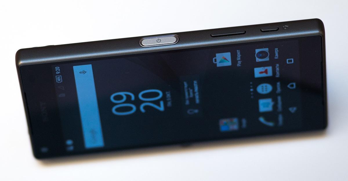 Обзор Sony Xperia Z5 Compact - 3