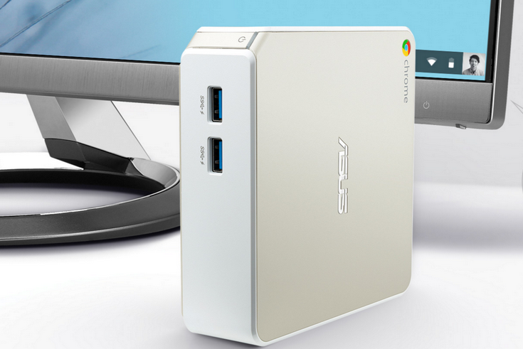 ПК Asus Chromebox N62 получил CPU Celeron 3205U