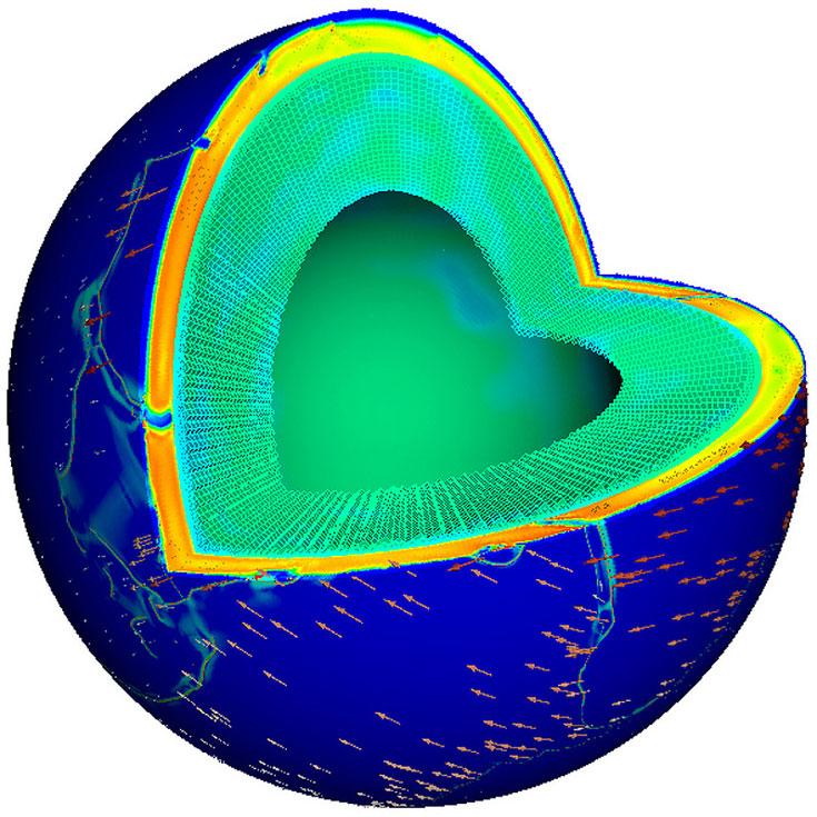 Система на архитектуре IBM Power воссоздала внешнюю оболочку Земли и движение тектонических плит