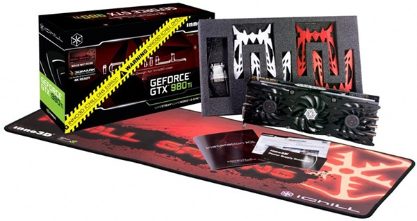 Inno3D iChiLL GeForce GTX 980Ti X3 DHS
