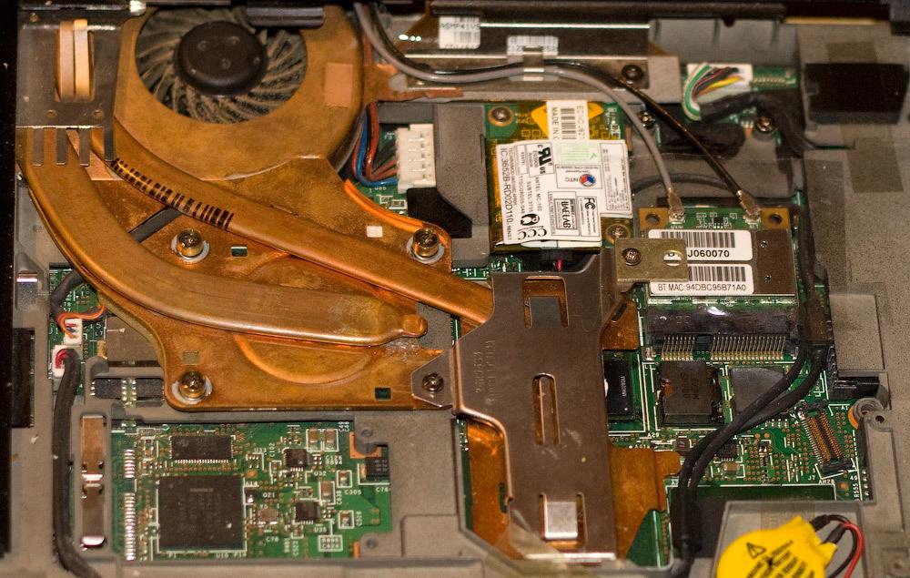 Апгрейд Wi-Fi и процессора на ноутбуке ThinkPad T60 - 10
