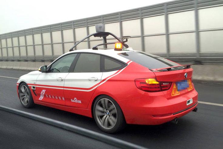 Основой робомобиля Baidu служит BMW 3 Series