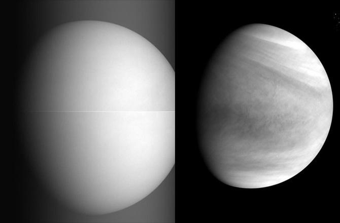 Японский зонд «Акацуки» прислал первые фото Венеры - 1
