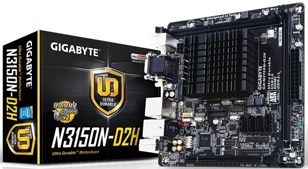 Gigabyte GA-N3150N-D2H