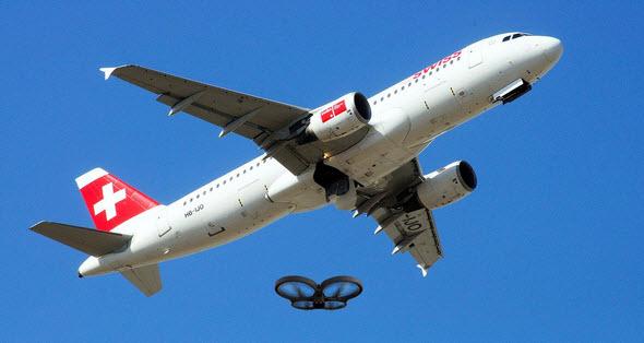 Как на самом деле обстоит ситуация с дронами, которые попадают на глаза пилотам и диспетчерам