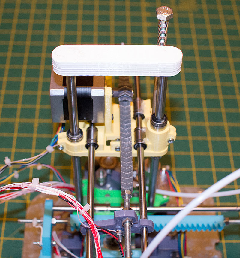 Как я доработал 3D принтер MC2 от Мастер Кит - 2