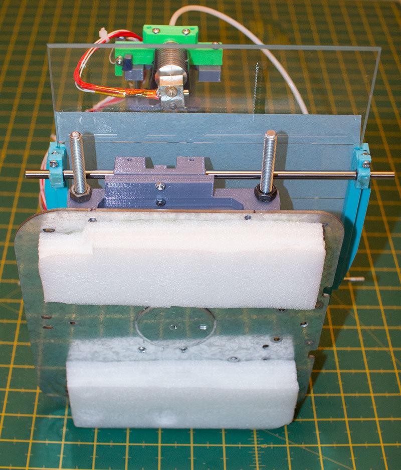 Как я доработал 3D принтер MC2 от Мастер Кит - 5