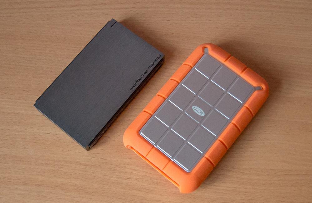 Один производитель – разные судьбы: внешние HDD LaCie P'9220 1 ТБ и Rugged Triple 2 ТБ - 1
