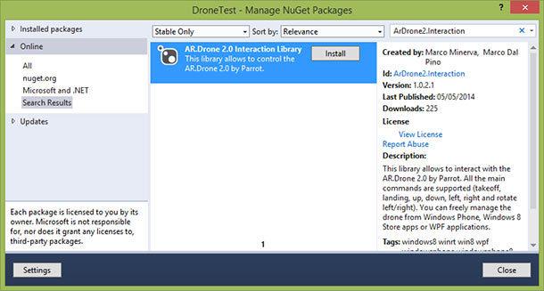 Управление дронами с помощью приложений для распознавания речи на основе Intel RealSense SDK - 3