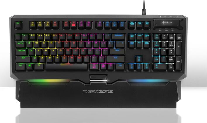 Клавиатура Sharkoon Shark Zone MK80 RGB стоит 140 евро