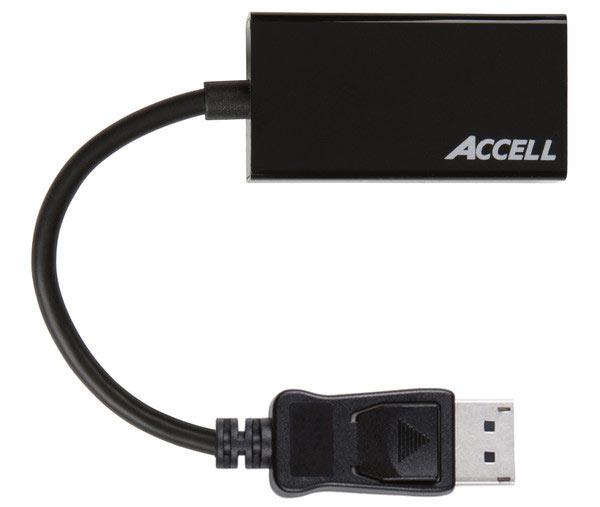 Цена переходника Accell DisplayPort 1.2 to HDMI 2.0 — $38