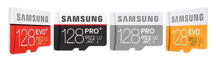 Samsung представила карту памяти PRO Plus объёмом 128 ГБ