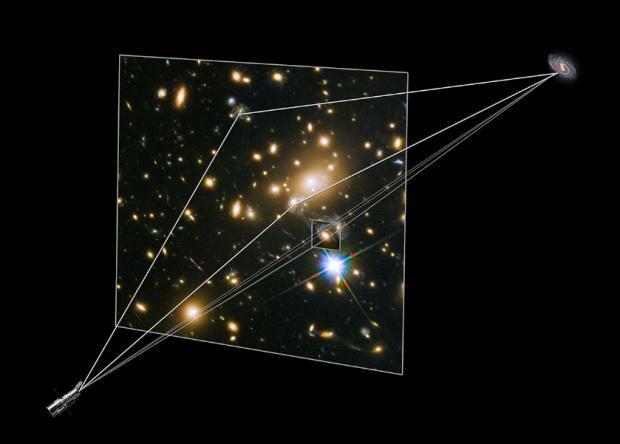 Дежа вю. «Хаббл» повторно заснял взрыв сверхновой Refsdal - 3