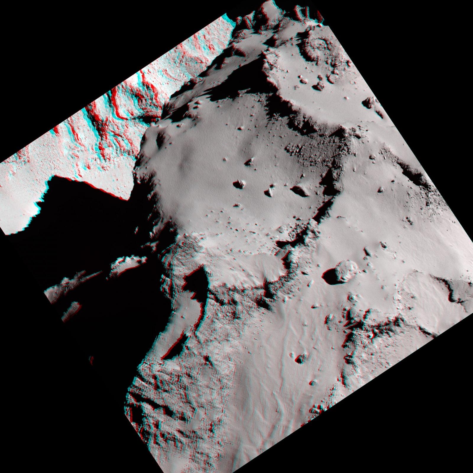 Космическое агентство ESA выложило в Сеть новые фотографии кометы Чурюмова-Герасименко - 6