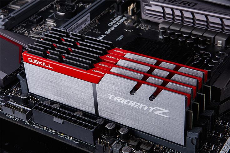 Новые модули памяти G.Skill DDR4-3200 работают с задержками CL14-14-14-35