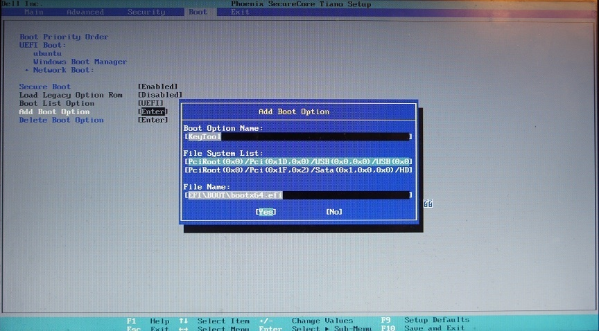 Укрощаем UEFI SecureBoot - 22