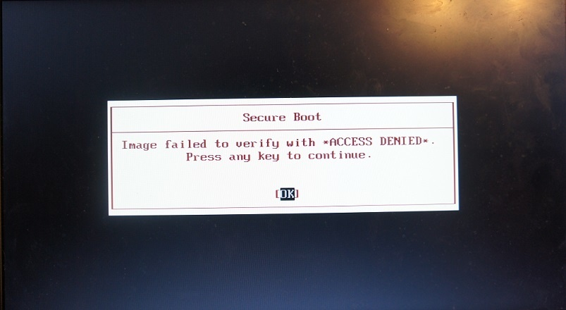 Укрощаем UEFI SecureBoot - 23