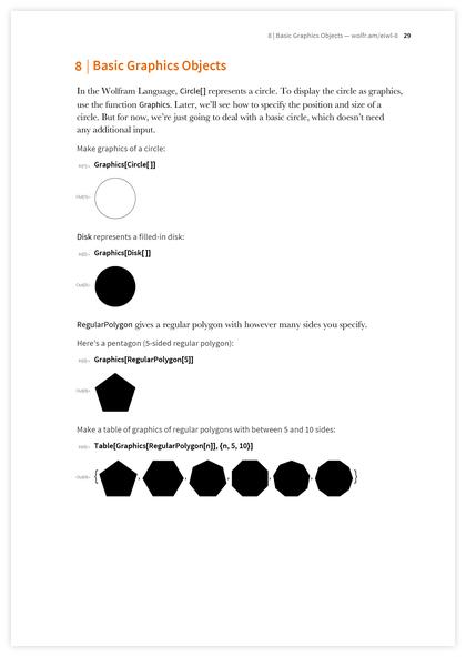 Книга Стивена Вольфрама «Элементарное введение в язык Wolfram Language» - 17