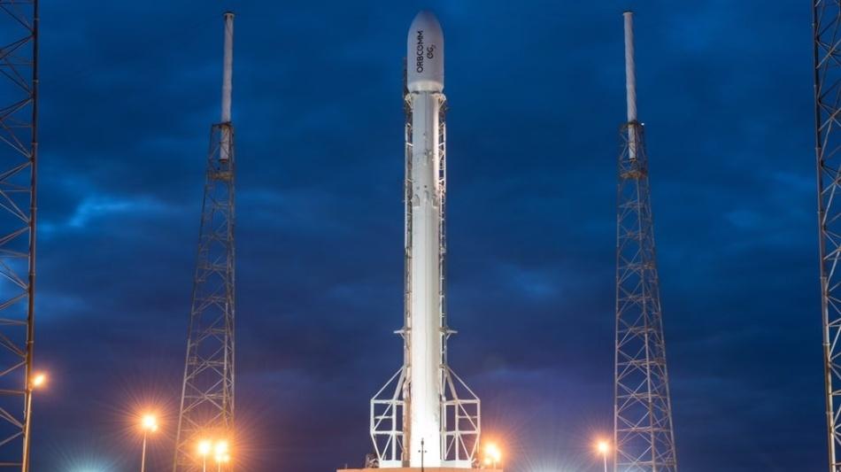 Летим и садимся вместе с Falcon 9R - 1