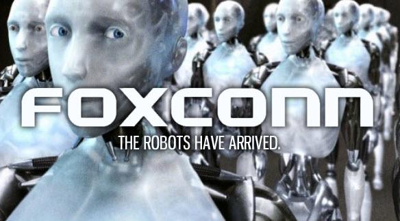 Foxconn инвестировала $120 млн в производство роботов