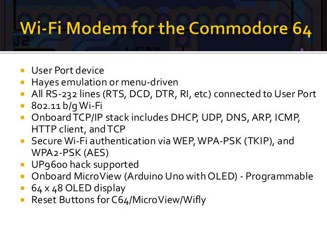 Wi-Fi модем для Commodore — как это выглядит? - 4