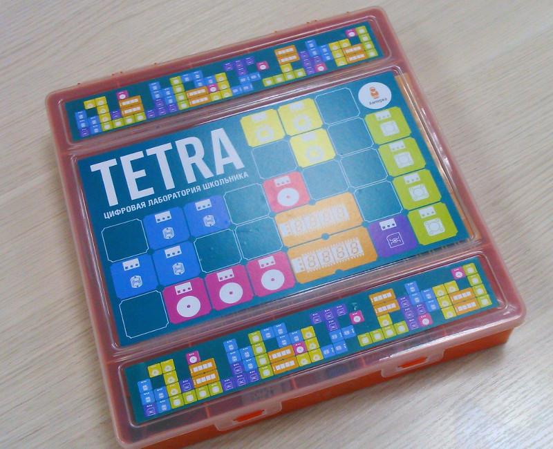 Обзор образовательного набора от Амперки — TETRA - 5