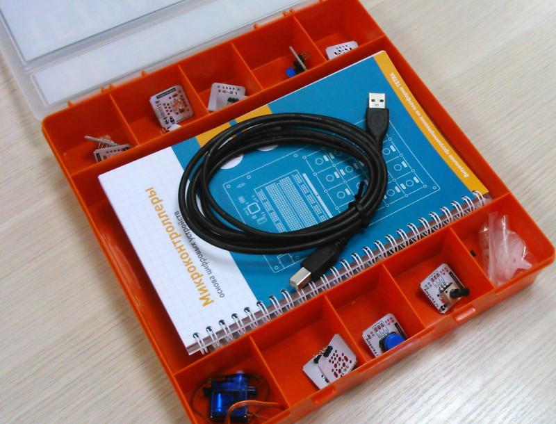 Обзор образовательного набора от Амперки — TETRA - 8