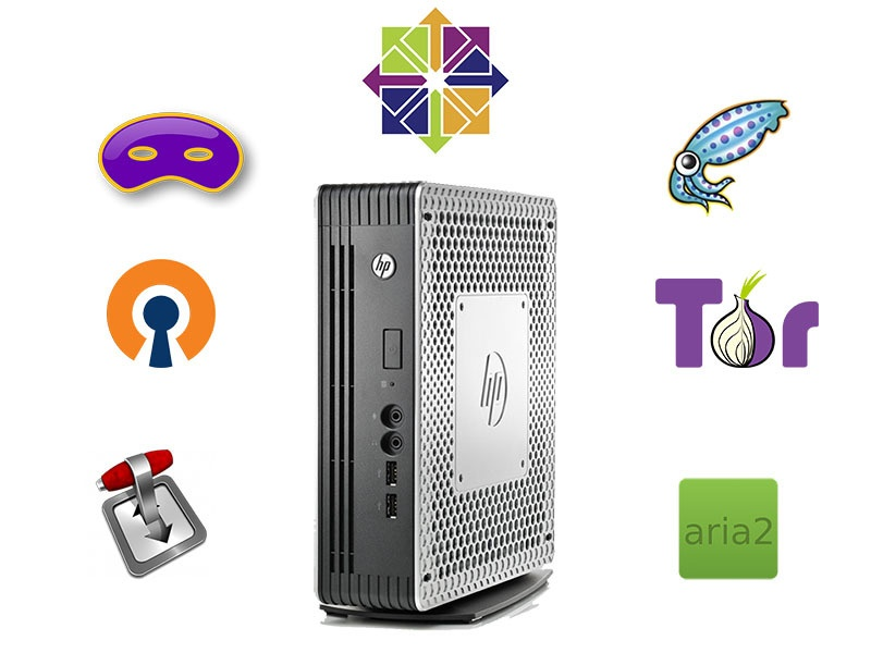 Тонкий клиент HP в качестве домашнего роутера и файл-сервера - 1