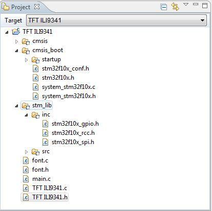 Реализация программного кода для модуля индикации на ILI9341 + STM32. Часть 4.2 - 3