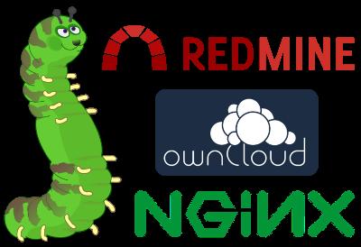 Окружение разработки: Redmine + Git + ownCloud - 1