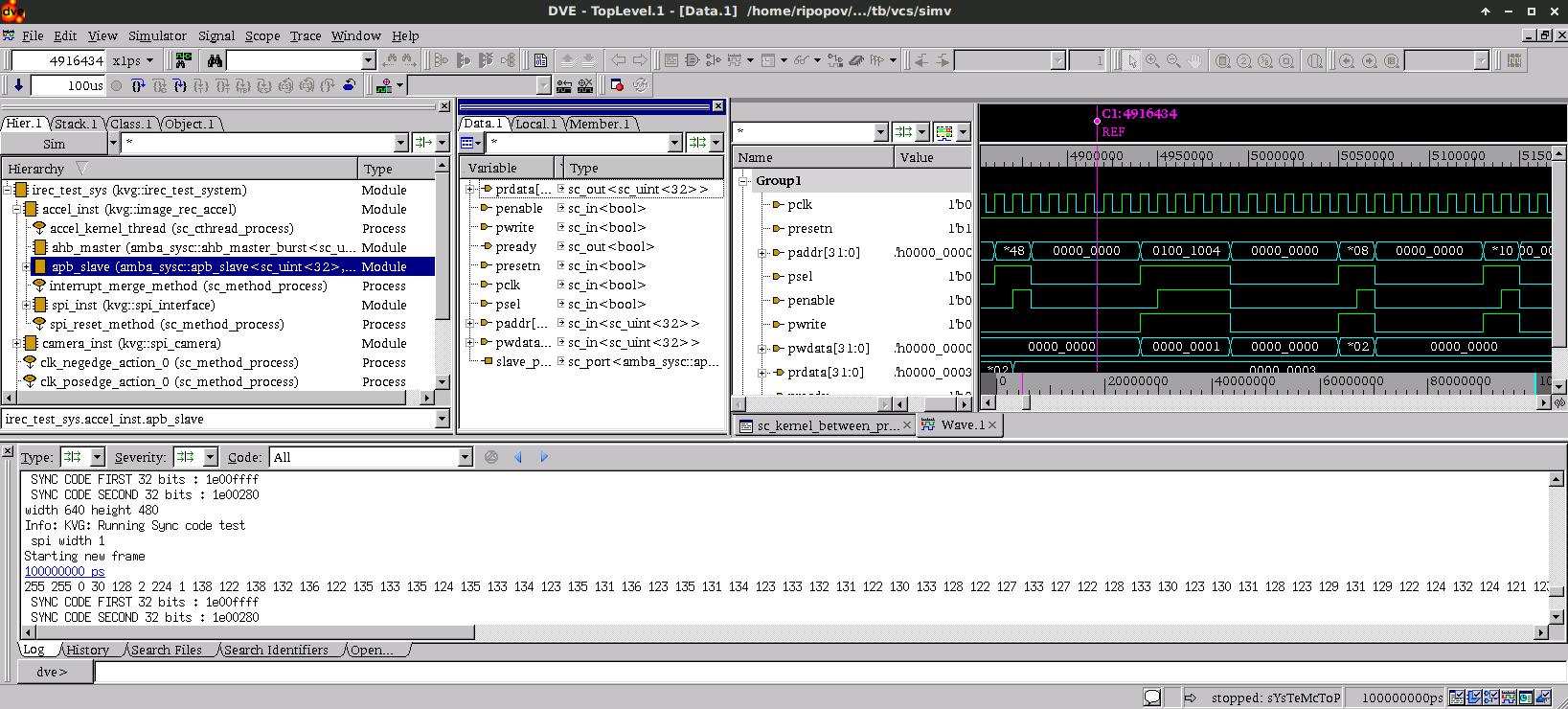 Разработка цифровой аппаратуры на C++-SystemC глазами SystemVerilog программиста - 4