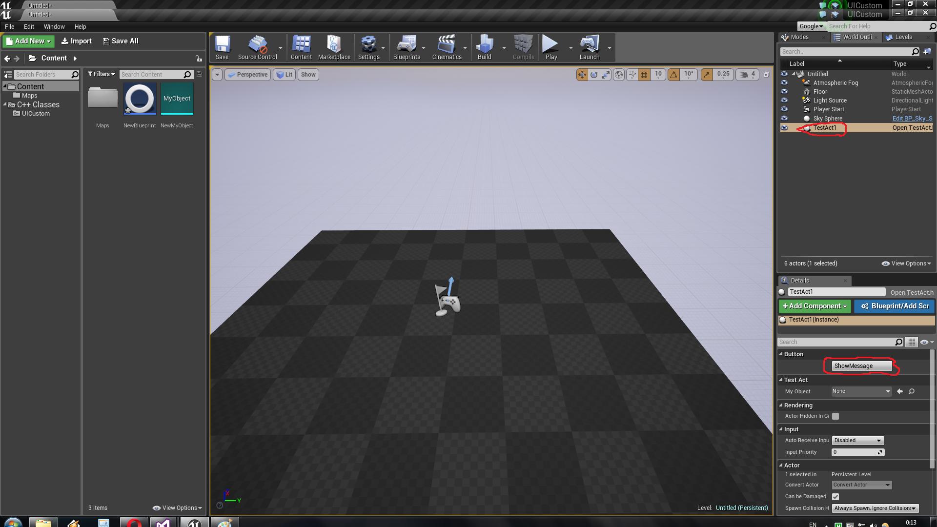 Создание своего типа ассета в Unreal Engine 4 и кастомизация панели свойств - 4