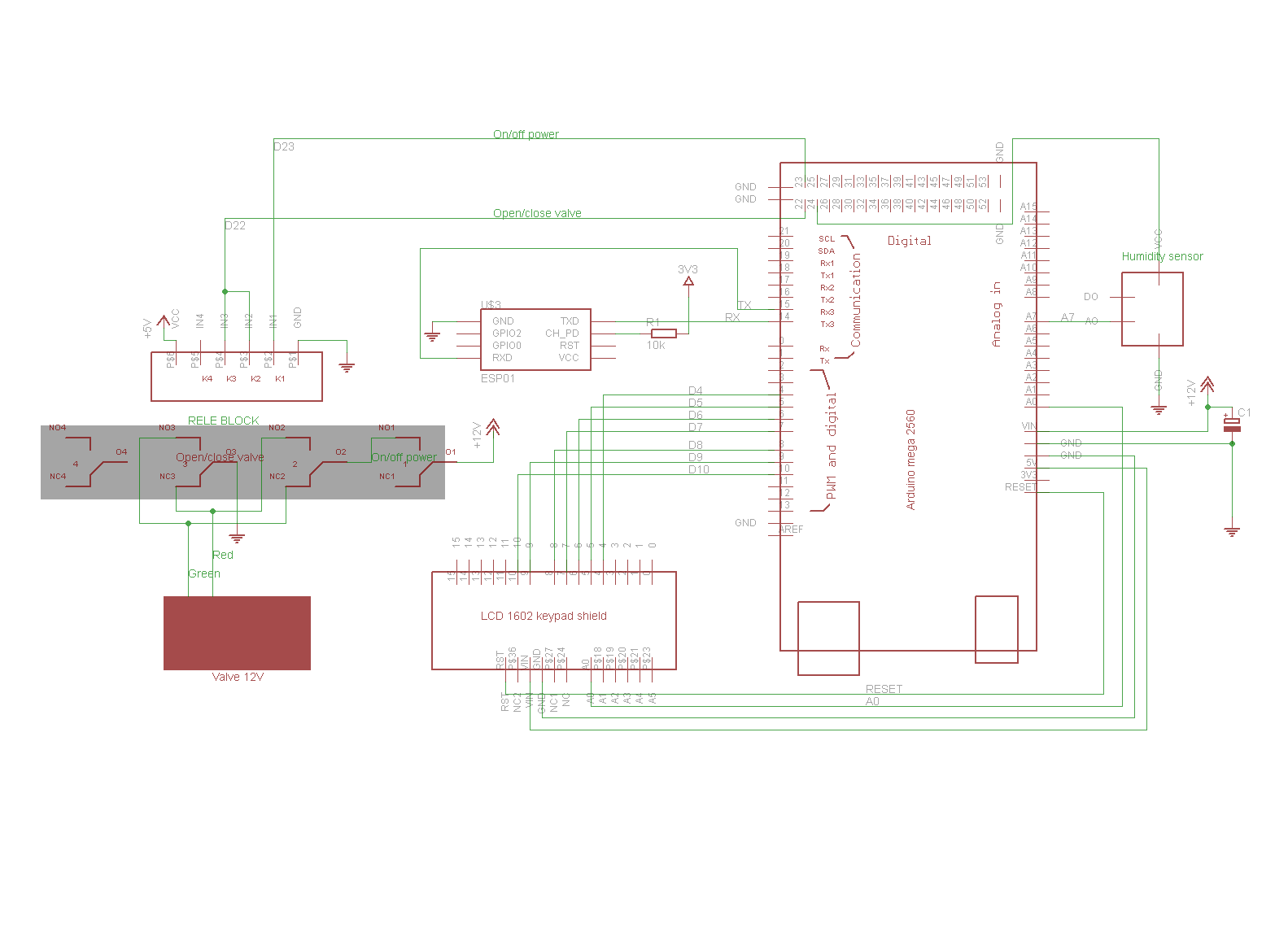 Ещё одна система автополива растений с использованием ESP8266 и Blynk - 4