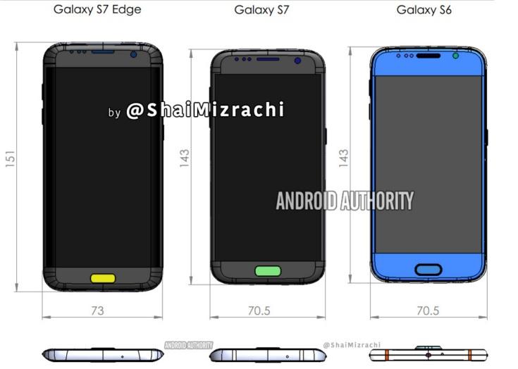 По слухам, в первой партии Galaxy S7 будет 5 млн смартфонов. Продажи могут начаться уже в феврале