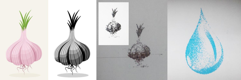 Самодельный дешевый Dotwork-принтер - 11