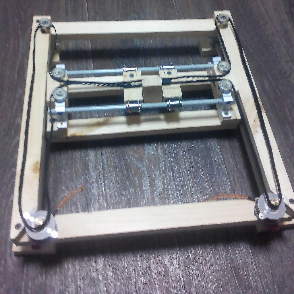 Самодельный дешевый Dotwork-принтер - 4