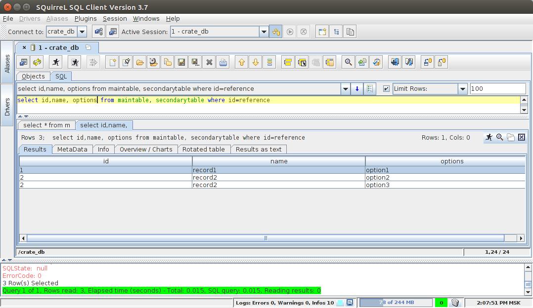 SQL JOIN, Elasticsearch и установка из binary repository manager - 8
