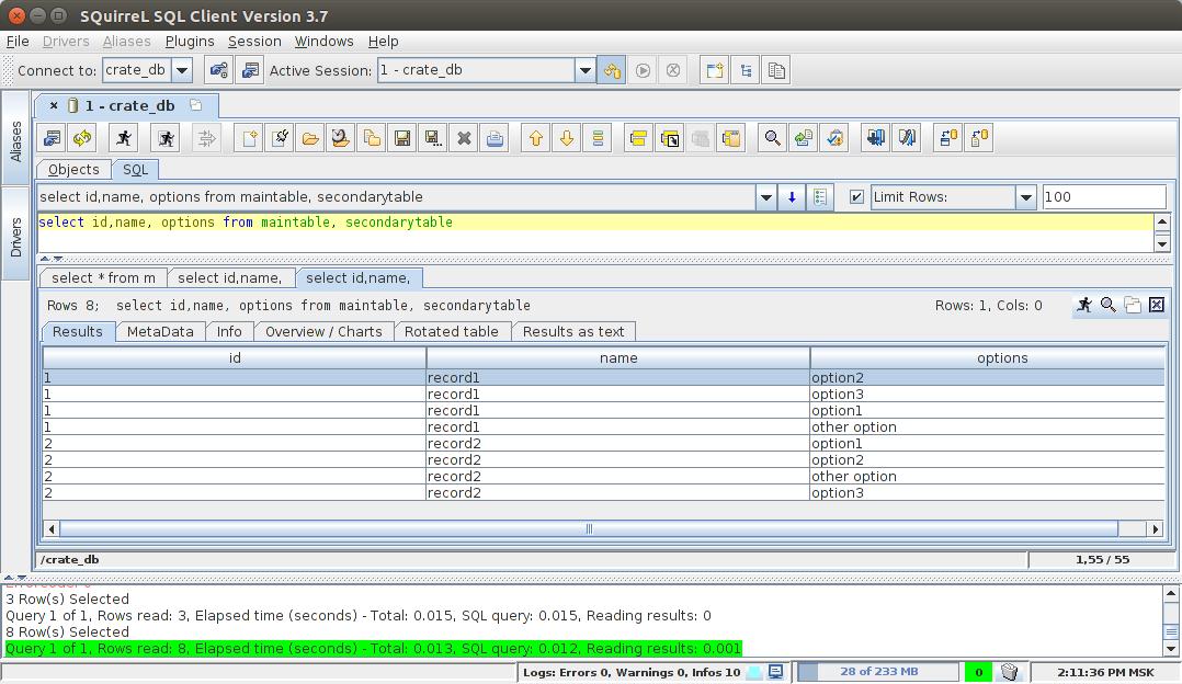 SQL JOIN, Elasticsearch и установка из binary repository manager - 9