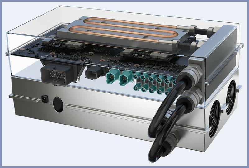 Автомобильный суперкомпьютер Drive PX 2 от Nvidia для автономного вождения - 1