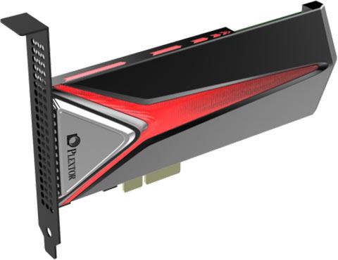 SSD Plextor M8Pe поддерживает NVMe