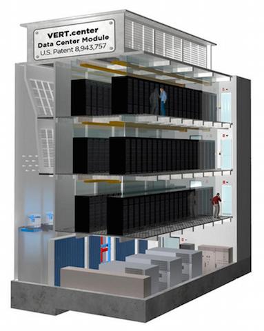 Экономия на квадратных метрах. Многоэтажная серверная ферма - 2