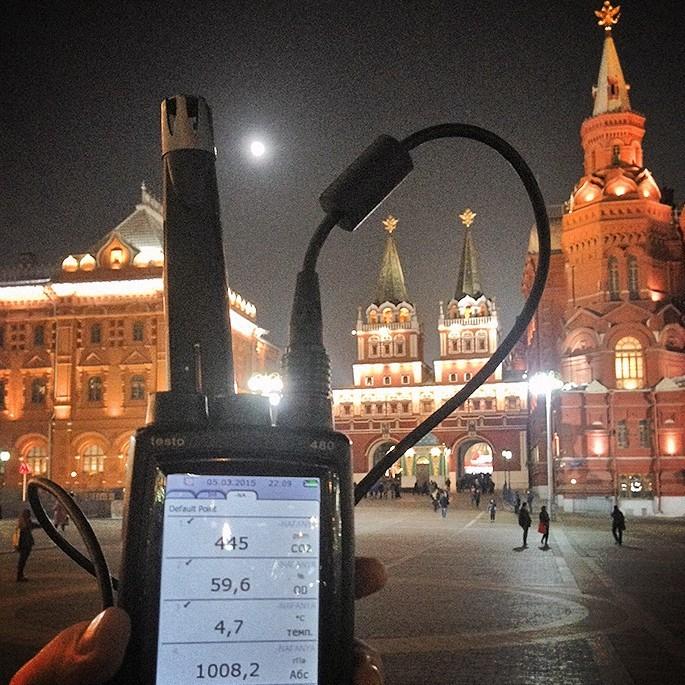 Охота на душный воздух: сколько СО2 в Москве? - 1