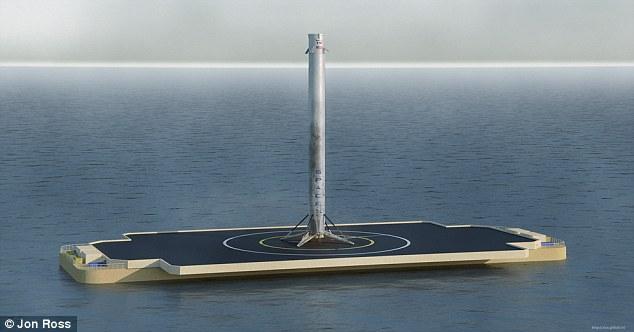 SpaceX снова собирается посадить Falcon 9 на морскую платформу, усложняя себе жизнь. Зачем? - 1