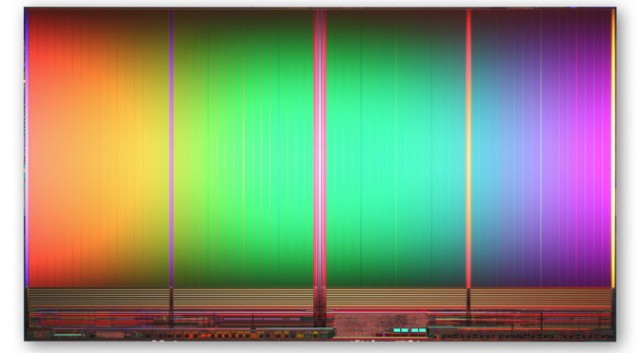 NAND flash silicon die