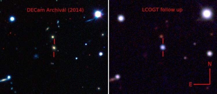 Замечена необычно яркая сверхновая. В 50 раз ярче нашей галактики - 1