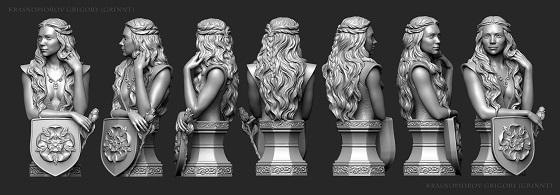 Победители конкурса по скульптингу персонажей по мотивам «Игры престолов» - 3